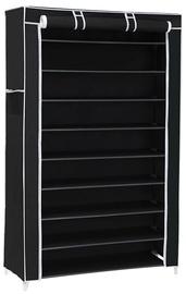 Шкаф для обуви Songmics, черный, 880x280x1600 мм