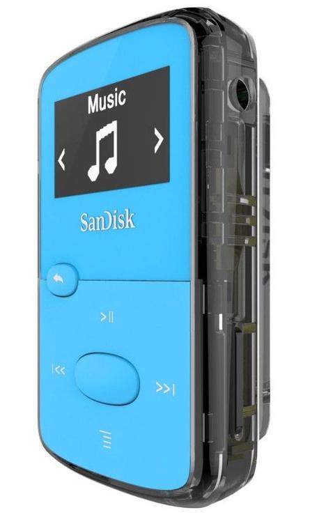 Mūzikas atskaņotājs Sandisk Clip Jam Blue, 8 GB
