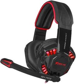 Игровые наушники Xtrike Me GH-703 Black