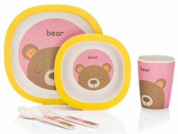 Fillikid Bamboo Crockery Set Bear B110-12