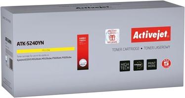 Тонер ActiveJet ATK-5240YN Kyocera TK-5240Y Yellow