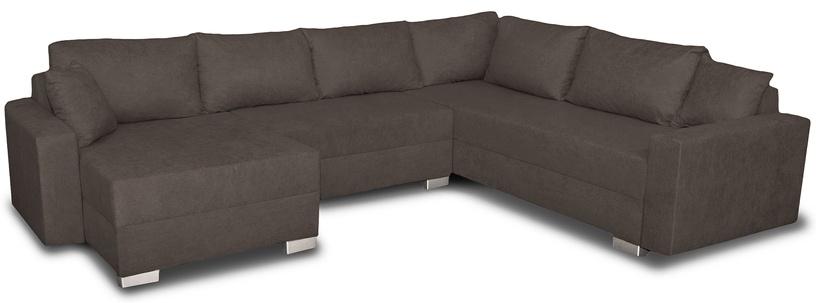 Stūra dīvāns Platan Gustaw Soro 91 Grey, 315 x 135 x 87 cm