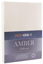 DecoKing Amber Bedsheet 140-160x200 Beige