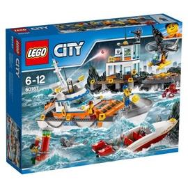 Konstruktors Lego City Coast Guard Head Quarters 60167