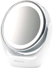 Kosmētiskais spogulis Medisana CM835 White, ar gaismu, stāvošs, 16.9x19 cm