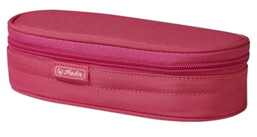 Herlitz Pencil Pouch Oval Pink