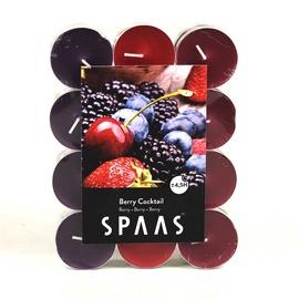 Aromātiskā svece Spaas Red Berries, 24 gab., 4.5 h