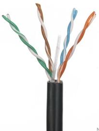 A-Lan Patch Cable UTP CAT 5e 305 m Black