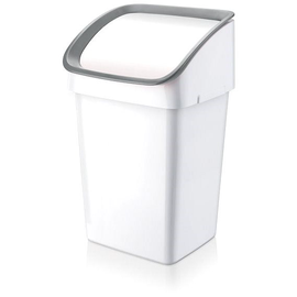Уличный мусорный бак Tescoma Clean, белый/серый, 23 л