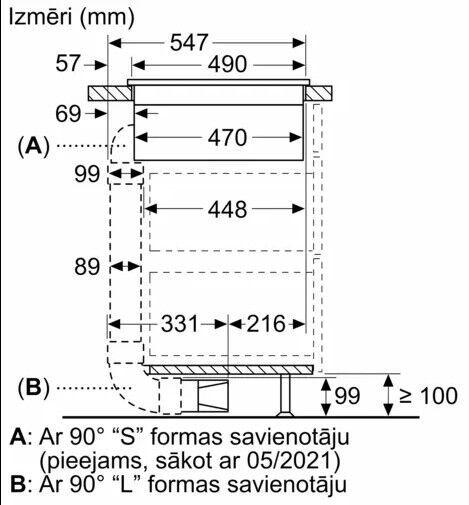Indukcijas plīts Bosch PIE611B15E