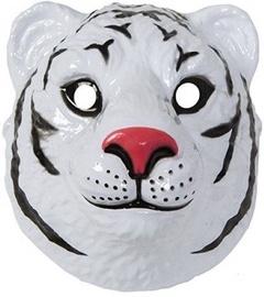 Маска White Tiger, белый, 220 мм