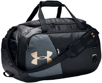 Under Armour Undeniable 4.0 Medium Duffle 1342657-002 Black