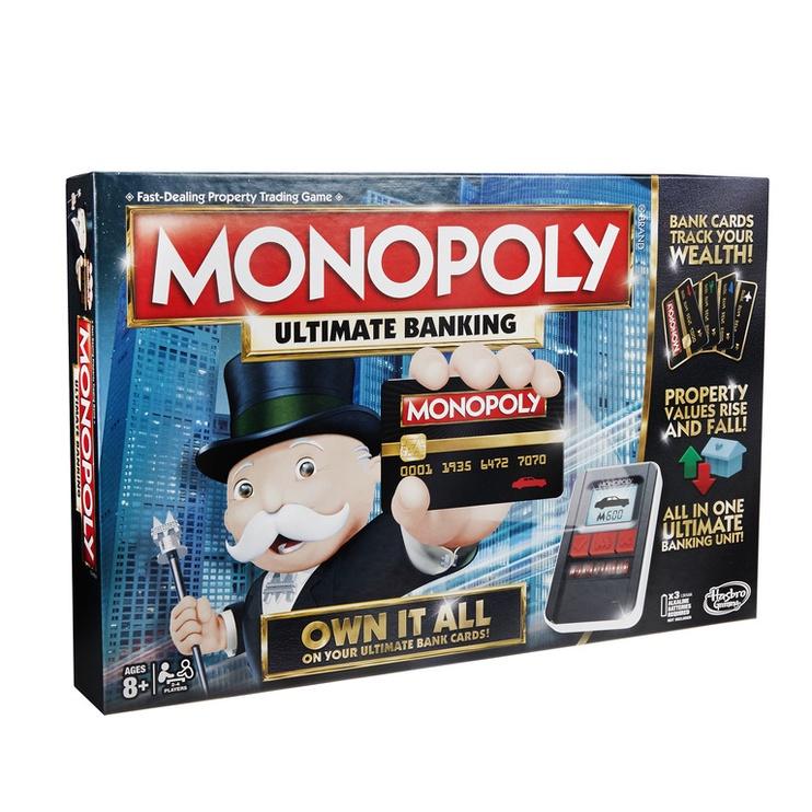 Galda spēle Hasbro Monopol Ultimate Banking LV/EST