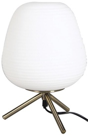 Verners Inregular Table Lamp 25W E14 White/Brass