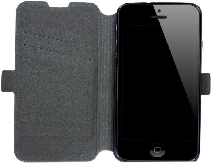 Telone Super Slim Shine Book Case For Sony Xperia XZ3 Black