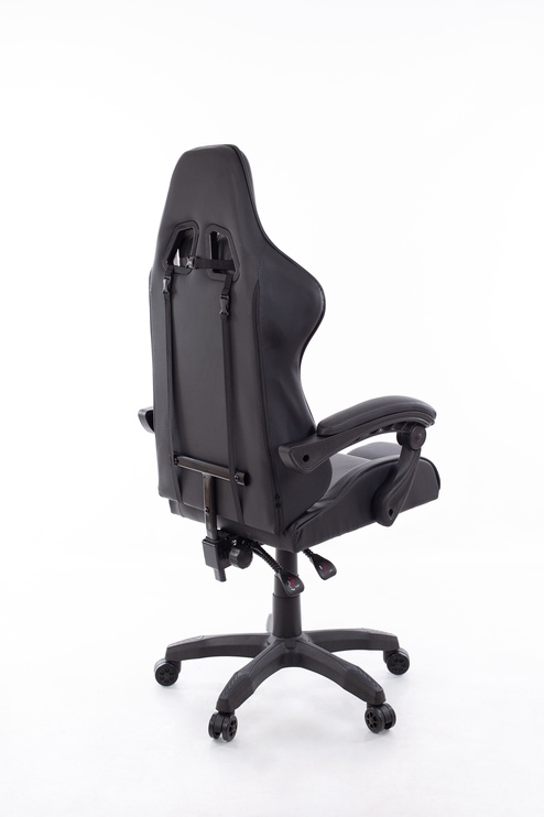 Spēļu krēsls Happygame 7911, melna