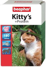 Пищевые добавки, витамины для кошек Beaphar Kittys With Protein 180 Tablets