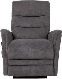 Atzveltnes krēsls Home4you Barclay 13843, pelēka, 79x86x105 cm