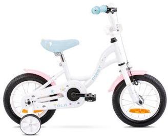 Bērnu velosipēds Romet Tom 12 7S White/Turquoise
