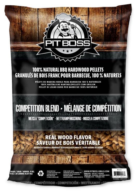Pit Boss Competition Blend Hardwood Pellets 9kg
