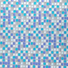 Штора для ванной Gedy Mosaico CO21820030, 1800x2000 мм