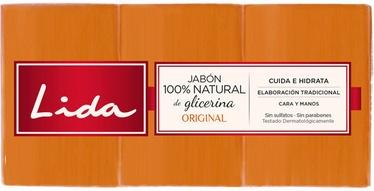Мыло Lida Original, 375 мл, 3 шт.
