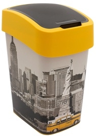 Curver Deco Flip Bin 25l New York