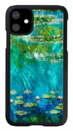 iKins Water Lilies Back Case For Apple iPhone 11 Black