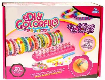 Aproces izgatavošanas komplekts DIY Colorful Loom Bands