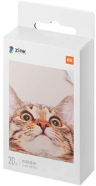 Xiaomi Mi Portable Photo Printer Paper 2x3'' 20 Sheets