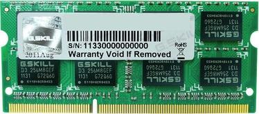 Operatīvā atmiņa (RAM) G.SKILL FA-1600C11S-8GSQ DDR3 (SO-DIMM) 8 GB