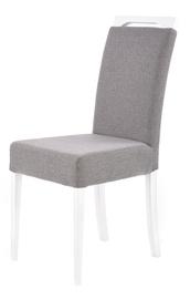Ēdamistabas krēsls Halmar Clarion White/Gray