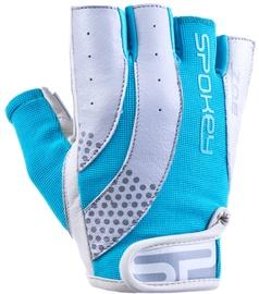 Spokey Zoe II Fitness Gloves Grey/Turquoise L