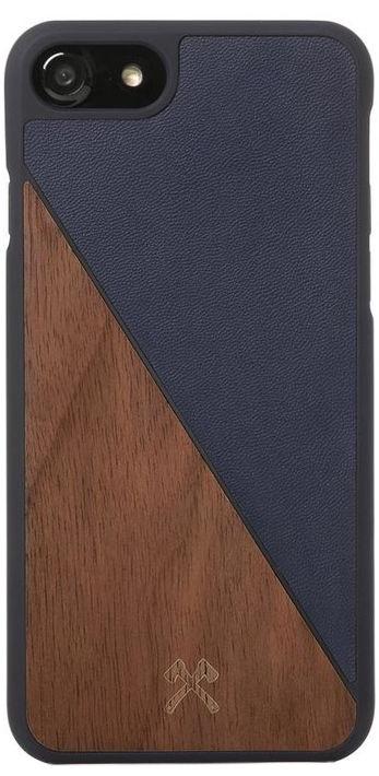 Woodcessories EcoSplit Back Case For Apple iPhone 7/8 Walnut/Blue