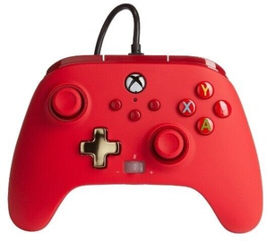 Vadības panelis PowerA Enhanced Controller Xbox Series X/S Red