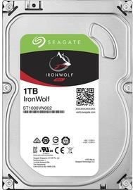 Datu glabātuve tīklā (NAS) Seagate IronWolf NAS HDD 1TB 5900RPM SATA3 64MB ST1000VN002