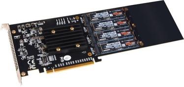 Sonnet 4xM.2 Silent PCIe Card