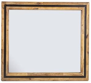 Home4you Mirror Richard 90x80cm Brown