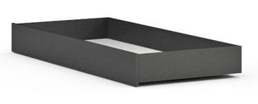 Black Red White Possi Bed Drawer 90 Gray Tungsten