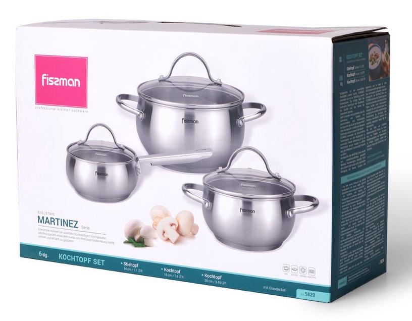Fissman Martinez Cookware Set 3pcs