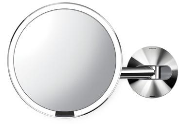 Зеркало Simplehuman ST3015, с освещением, подвесной, 35 см x 23 см