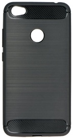 TakeMe Carbon Effect Back Case For Apple iPhone 7/8 Black