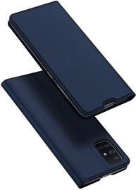 Dux Ducis Skin Pro Bookcase For Samsung Galaxy A71 Blue