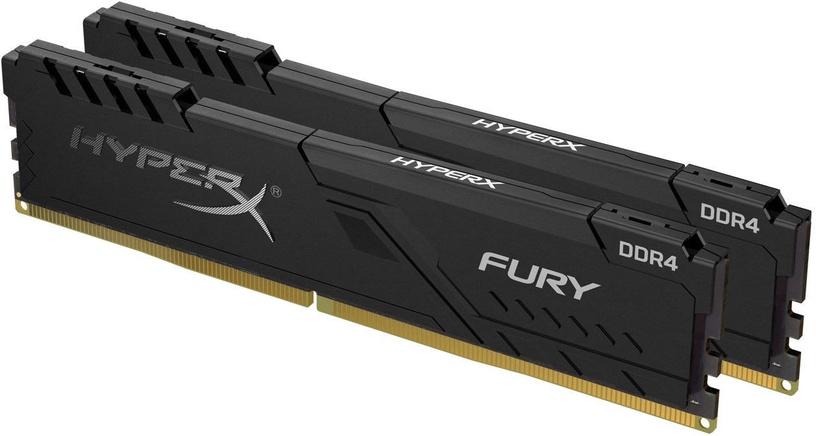 Operatīvā atmiņa (RAM) Kingston HyperX Fury Black HX426C16FB3K2/8 DDR4 8 GB CL16 2666 MHz