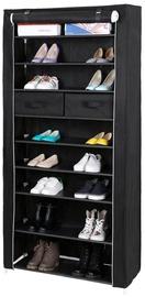 Шкаф для обуви Songmics Black, 880x280x1750 мм