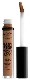 NYX Can't Stop Won't Stop Contour Concealer 3.5ml Mahogany