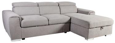 Stūra dīvāns Home4you Elba RC 28515 Light Grey, 260 x 163 x 82 cm
