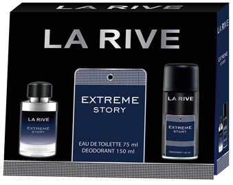 Tualetes ūdens La Rive Extreme Story 75 ml EDT + 150 ml Dezodorants
