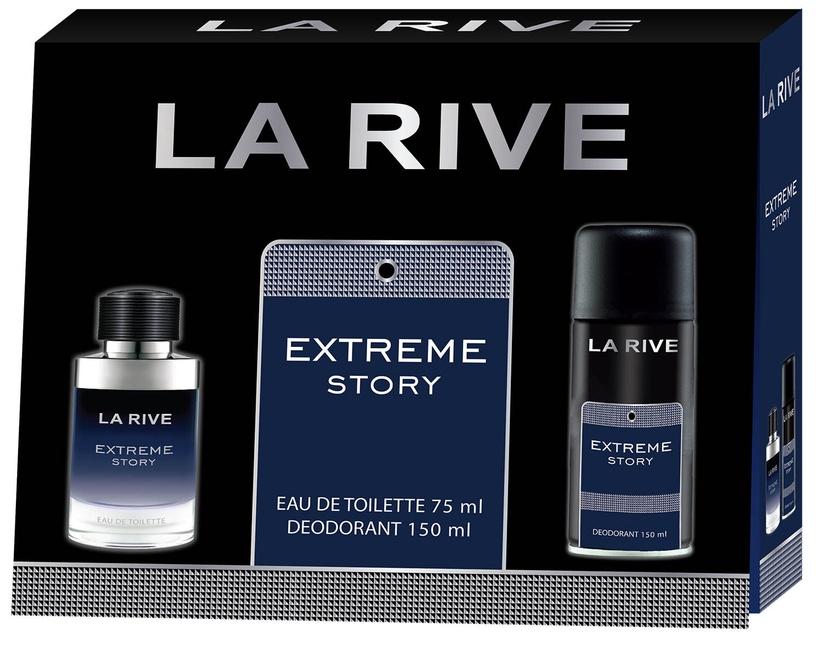 Smaržas La Rive Extreme Story 75 ml EDT + 150 ml Dezodorants