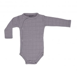 Lodger Romper Solid Body With Long Sleeves Donkey 74cm
